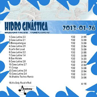 HidroGinastica#2013-01-26 (Samba/Latino House)