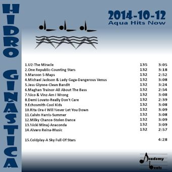 HidroGinastica#2014-10-11 Aqua Hits Now