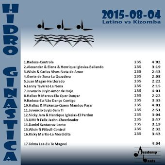 HidroGinastica#2015-08-04 Latino vs Kizomba