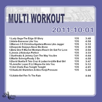 MultiWorkout#2011-10-01