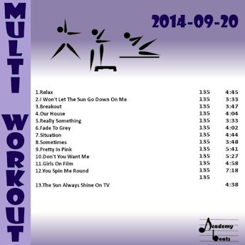 MultiWorkout#2014-09-20 80\'s Remixed