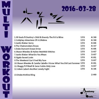 MultiWorkout#2016-03-28 Pop