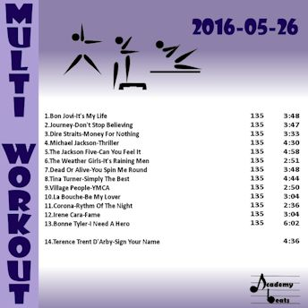 MultiWorkout#2016-05-26 80's