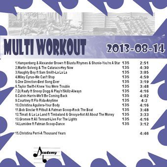 MultiWorkout#2013-08-14