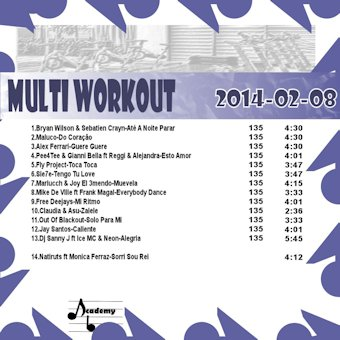 MultiWorkout#2014-02-08 (Latinas)