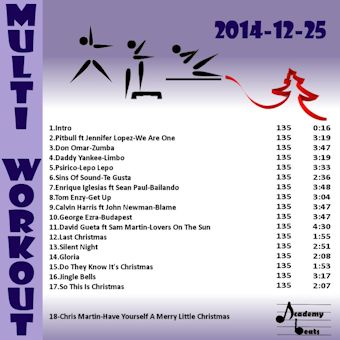 MultiWorkout#2014-12-25 NATAL